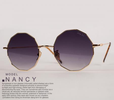 عینک آفتابی زنانه مدل Nancy (مشکی)