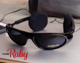 عینک آفتابی  هدست دار مدل Raby