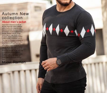 بافت مردانه مدل Raman