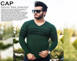 بافت مردانه مدل Cap (سبز)