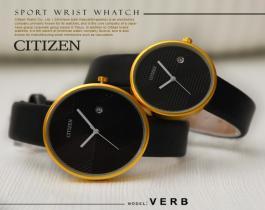 ست ساعت مچی مردانه و زنانه Citizen مدل Verb(صفحه مشکی) -