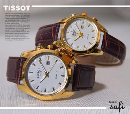 ست ساعت مچی TISSOT مدل Sufi(صفحه سفید)