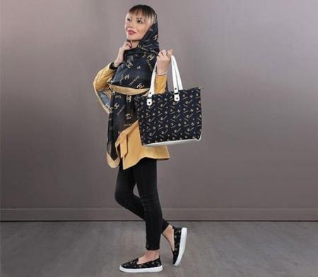 پکیج کیف وکفش وروسری دخترانه مدل Chanel