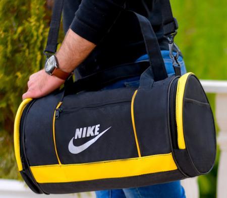 ساک ورزشی Nike مدل Pelina (مشکی زرد)