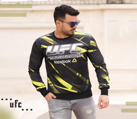 سویشرت مردانه Reebok مدل UFC