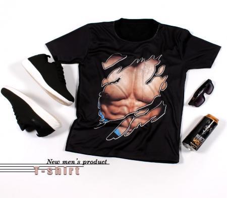 تیشرت مردانه مدل six pack