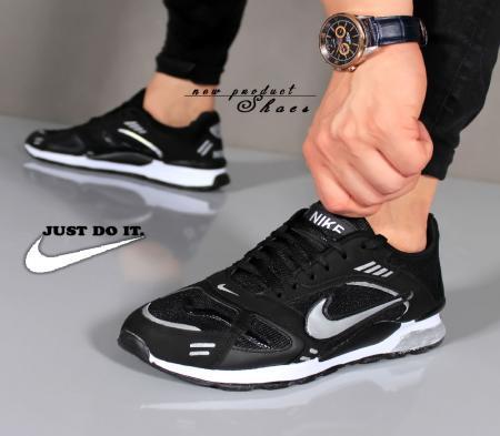 کفش مردانه Nike مدل Best( مشکی نقره ای)
