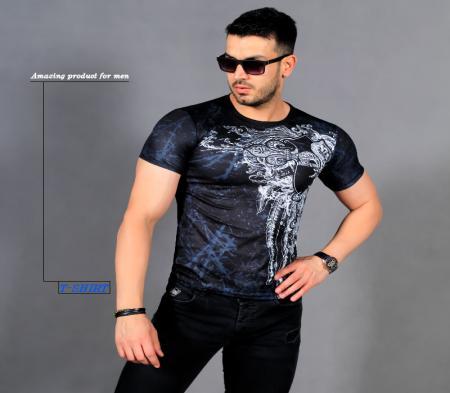 تیشرت مردانه مدل Monako