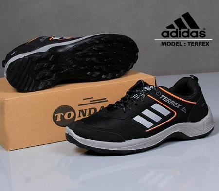 کفش مردانهadidas مدل T21( مشکی نارنجی)