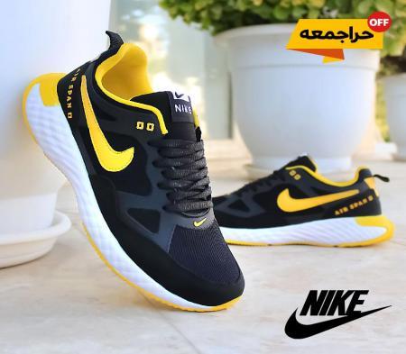کفش مردانه Nike مدل Span (مشکی زرد)