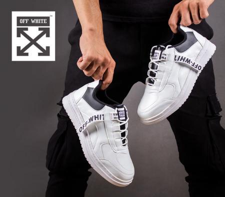 کفش مردانه off white مدل sabalan