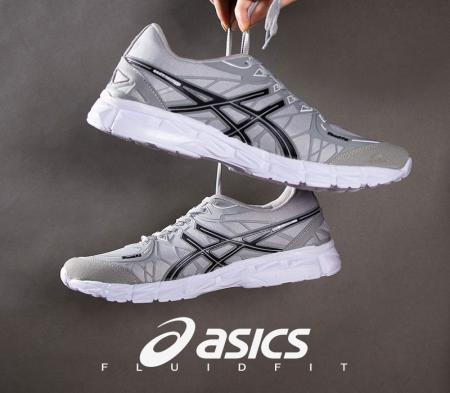 کفش مردانه Asics مدل Fluid fit(طوسی)